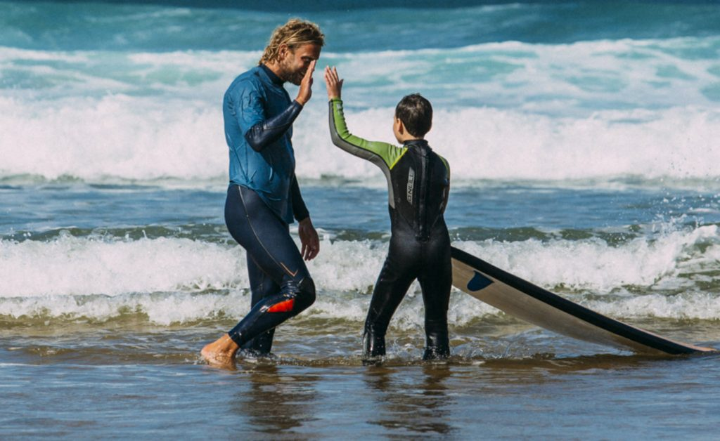 Portugal Aljezur Surflife Family surf lessons