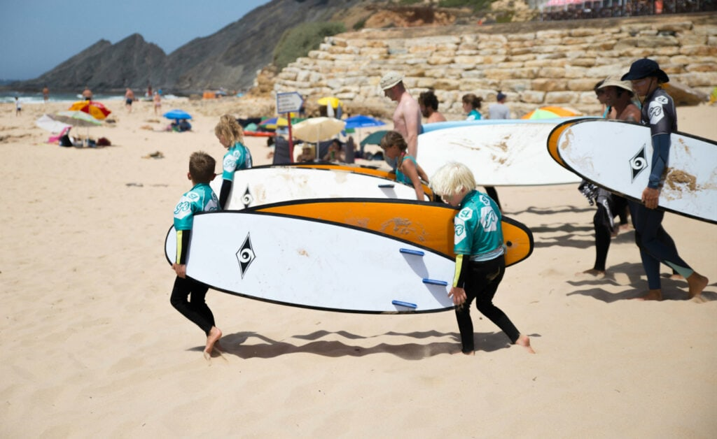 Surflife Family Portugal surf lessons 6